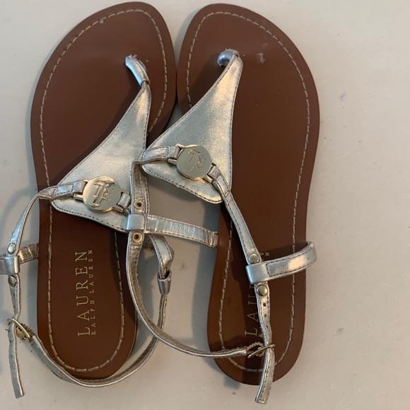 Lauren Ralph Lauren sandals.